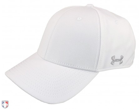 UA-FBCAP-WH-Under Armour White Referee Cap