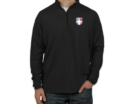 Official Ump-Attire.com Staff 1/4 Zip Performance Pullover