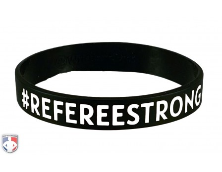 UA-REF-BAND #REFEREESTRONG Bracelet Front View