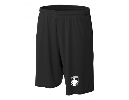 UA-SHORT-BK Ump-Attire.com Dri-Fit Shorts - Black