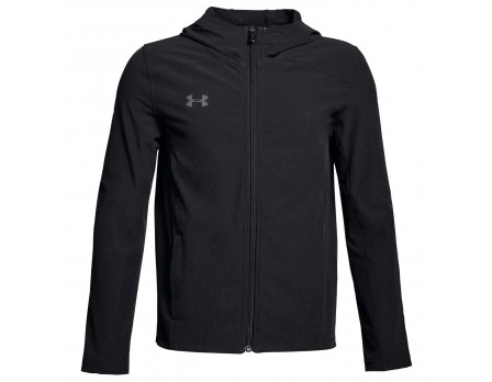UA-STORM-BK Under Armour Challenger II Storm Shell - Black Front View