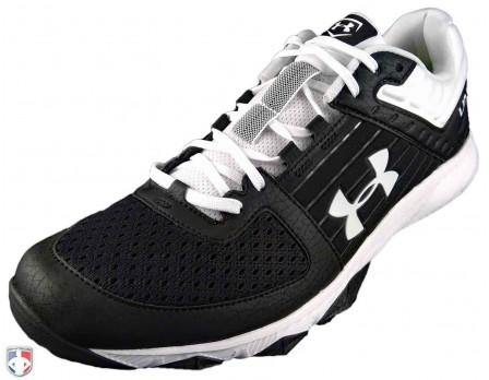 Under Armour Yard Trainer Black & White Field Shoes