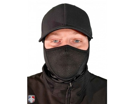 ULF-CWM UMPLIFE Cold Weather Mask Worn Front View Baseball