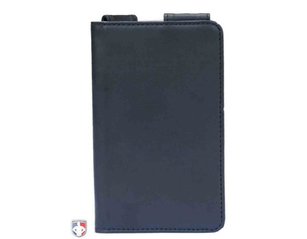 "ULF-PRO-Pro Grade Magnetic ""Book"" Style Umpire Lineup Card Holder / Game Card Referee Wallet"