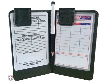Pro Grade Magnetic Book Style 6 Umpire Lineup Card Holder Game