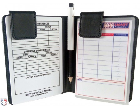 Pro Grade Magnetic Book Style 5 Umpire Lineup Card Holder Game