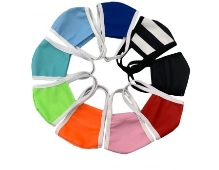 USA-MASK Reusable Cloth Face Mask by Smitty All Colors in Circle