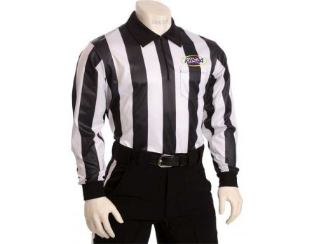 "USA730KY Kentucky (KHSAA) 2"" Stripe Foul Weather Football Referee Shirt"