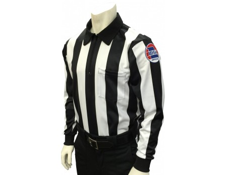 "USA730MO Missouri (MSHSAA) 2 1/4"" Stripe Foul Weather Football Referee Shirt"