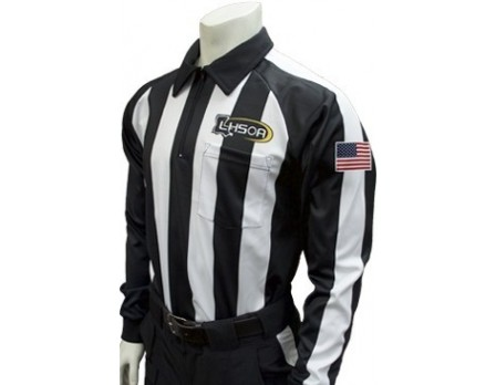Louisiana (LHSOA) Long Sleeve Football Referee Shirt