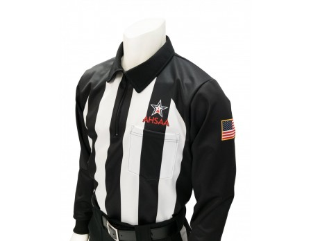 "USA730AL Alabama (AHSAA) 2 1/4"" Stripe Foul Weather Football Referee Shirt"