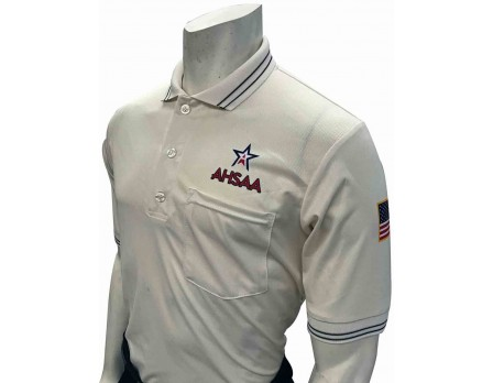 Alabama (AHSAA) Short Sleeve Umpire Shirt - Cream