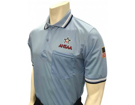Alabama (AHSAA) Short Sleeve Umpire Shirt - Powder Blue