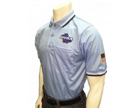 GHSA Umpire Shirt - Powder Blue