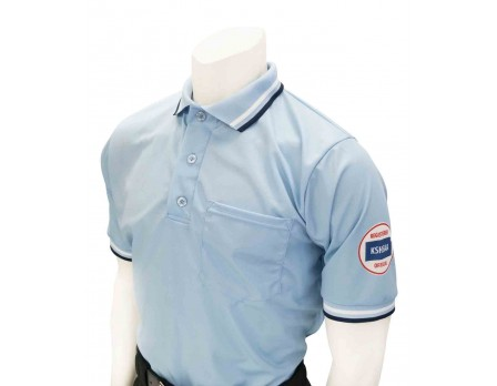 Kansas (KSHSAA) Umpire Shirt - Powder Blue
