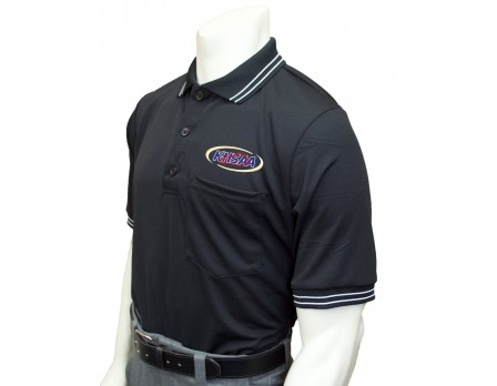 USA300KY-BLK-Kentucky (KHSAA) Umpire Shirt - Black
