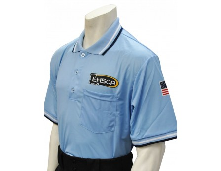 Louisiana (LHSOA) Short Sleeve Umpire Shirt - Powder Blue