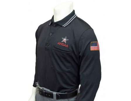 USA301AL-BK Alabama (AHSAA) Long Sleeve Umpire Shirt - Black