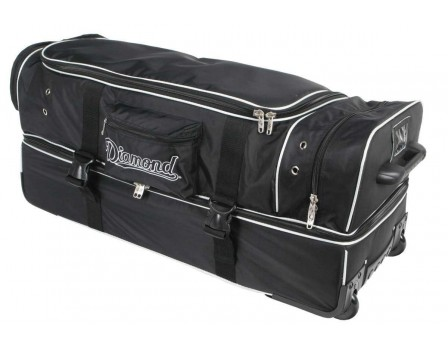 "WHLDLX-UMP-33 Diamond Ultimate 33"" Umpire Equipment Bag on Wheels with Telescopic Handle"