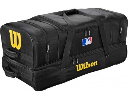 "Wilson V2 MLB 36"" Umpire Equipment Bag on Wheels"