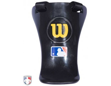 "A3901-YE-Wilson MLB Gold 6"" Umpire Throat Guard"