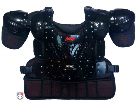 XV-HDX Schutt XV-HDX Umpire Chest Protector Front View with Extensions