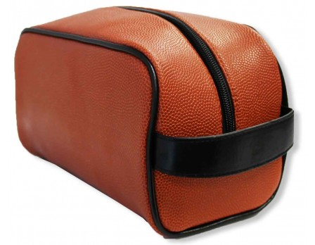 ZUM-BASKETBALL Zumer Basketball Referee Toiletry / Accessory Bag Front Angled View