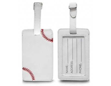 Zumer Baseball Luggage Tag