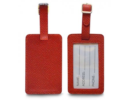 Zumer Basketball Luggage Tag