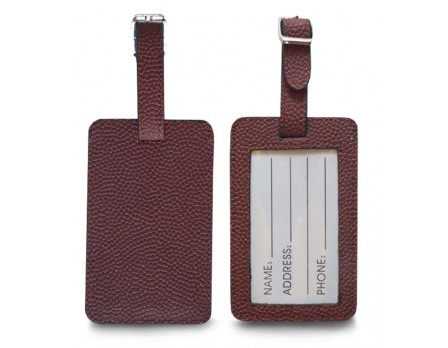 Zumer Football Luggage Tag