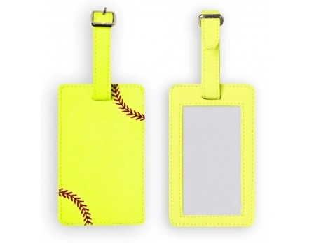 Zumer Softball Luggage Tag