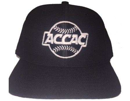 ACCAC Wool Blend Fitted Combo Plate / Base Umpire Cap - 4 Stitch