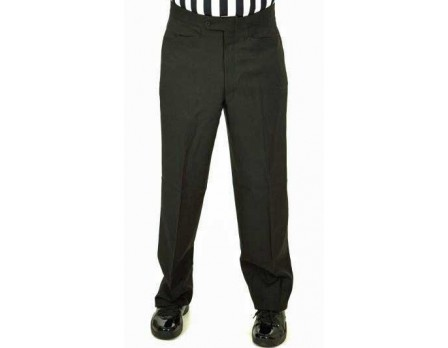 Smitty Athletic Fit Flat Front Referee Pants with Western-Cut Pockets