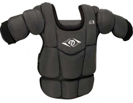 DCPiX3 Diamond iX3 Umpire Chest Protector Front View with Extension