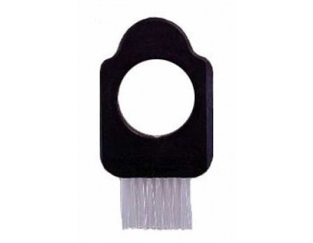 Hole-e Softball Umpire Brush SB2000 3-in-1 Softball Umpire Plate Brush Tool with Scraper