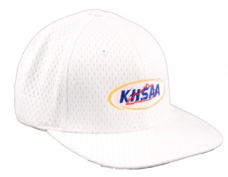 KHSAA Embroidered Richardson ProMesh White FlexFit Referee Cap