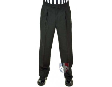 Smitty Athletic Fit Pleated Referee Pants with Slash Pockets