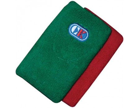 "Cliff Keen 5"" Wrestling Referee Red & Green Wristbands"