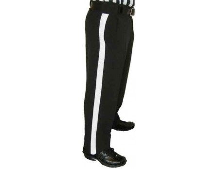 S172 Smitty NFL Style Black Foul Weather Football Referee Pants