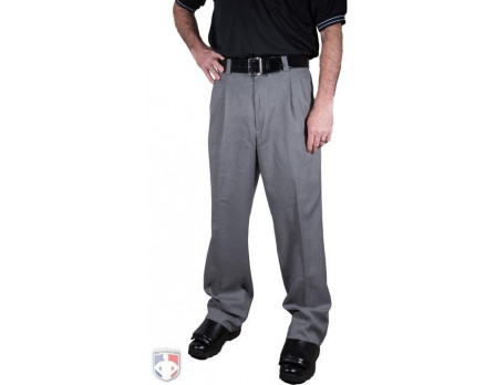 Smitty Heather Grey Combo Umpire Pants with Expander Waistband
