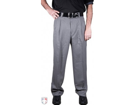 Smitty Heather Grey Umpire Base Pants with Expander Waistband