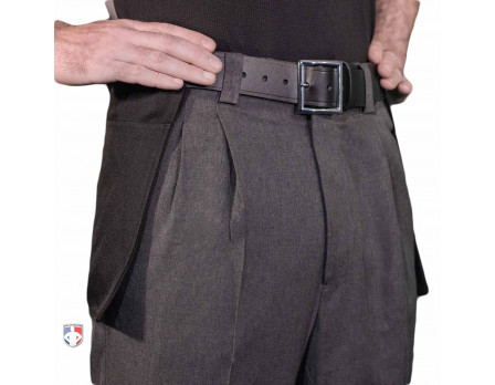 Smitty Charcoal Grey Plate Umpire Pants with Expander Waistband