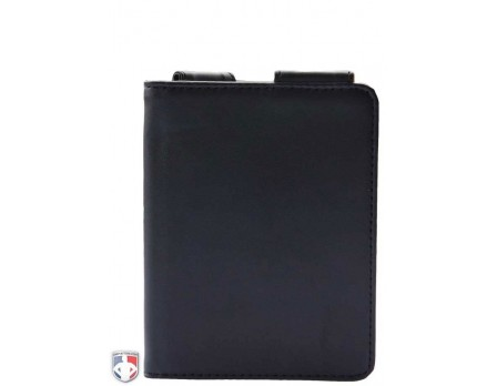 "Pro Grade Magnetic ""Book"" Style 5"" Umpire Lineup Card Holder / Game Card Referee Wallet"