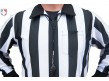 "FB123-Smitty 2"" Stripe ""Hybrid"" Cold Weather Football Referee Shirt Pocket"